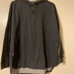 The north face oversized workout sweater